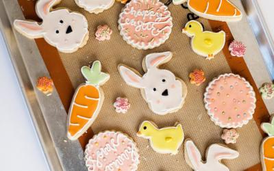 Biscuits de Pâques : sablés à la vanille