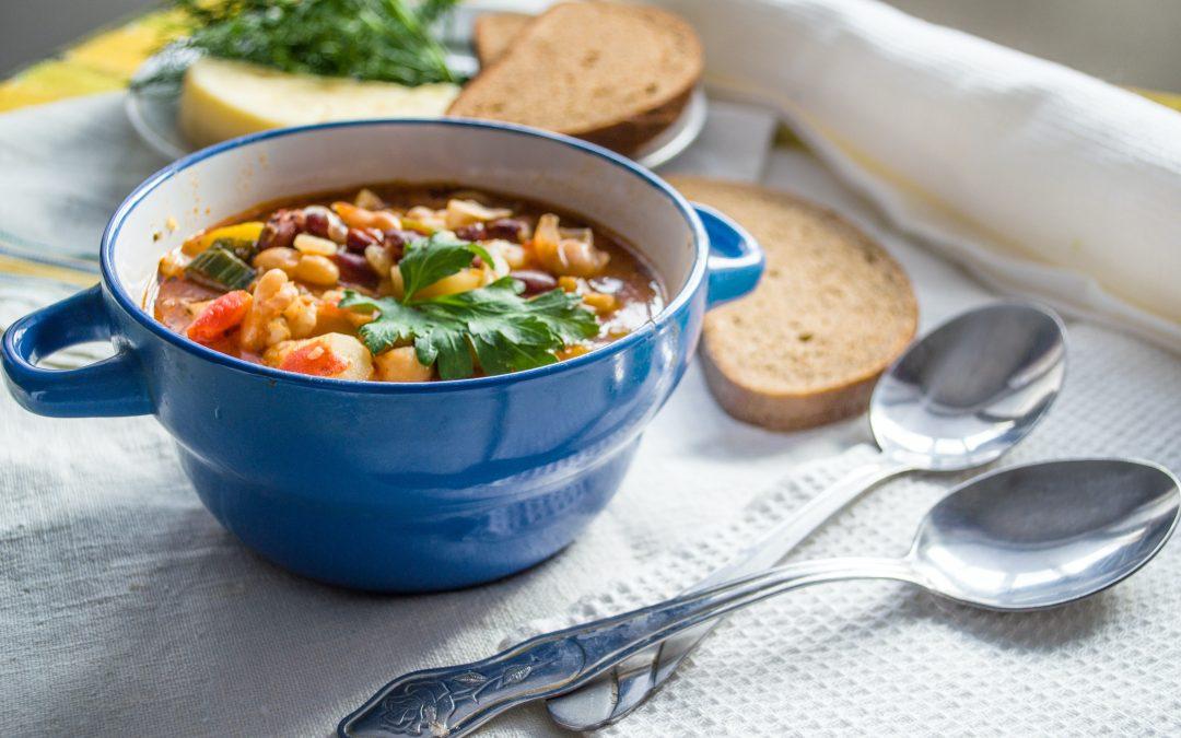 Soupe de légumes au «pistou» (Dès 12 mois) 🥕