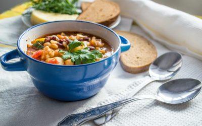 """Soupe de légumes au """"pistou"""" (Dès 12 mois) 🥕"""