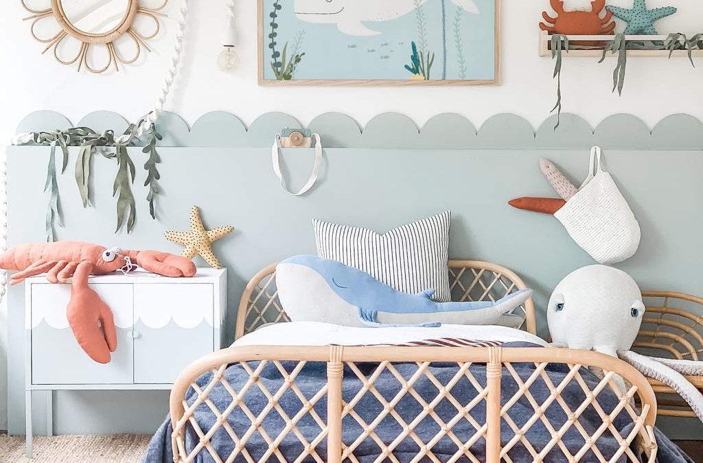 Sélection et inspirations : Une chambre sur le thème de la mer 🦀